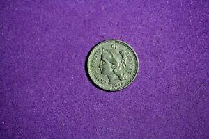 Estate Find 1875 - Three Cent Nickel!!  #K3173