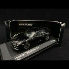 Porsche 718 Cayman Gt4 982 schwarz 2020 1 43 Model Minichamps