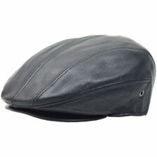 Gatsby Leather Fitted Hats for Men