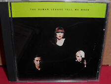 The Human League - Tell Me When PROMO CD single with REMIX 3 Tracks Mint
