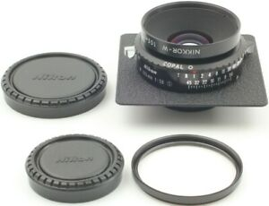 S/N20xxx Final[Top Mint] Nikon Nikkor W 105mm F5.6 S Lens Copal 0 4x5 from Japan