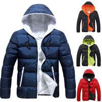 Men;s Winter Ultralight Duck Down Jacket Thicken Hooded Puffer Warm Outwear Coat