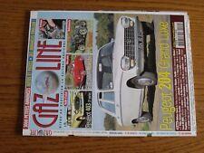 $$$ Revue Gazoline N°151 Peugeot 204 Grand LuxeFiat 500A MaestriClement AC2L