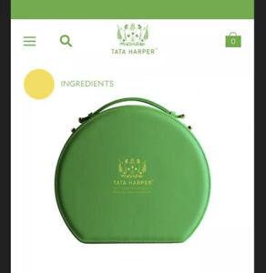 Tata Harper Vegan Leather Vanity Case- Makeup Box- New!