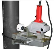 MAGNETIC PUNCH PIPE DRILLING RISER FIRE SPRINKLER HEAD HOLE CUTTING DRILL LEVEL