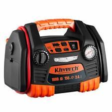Kinverch Car Portable Jump Starter with 150 PSI Air compressor,1000 Peak USB