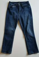 JAG Blue ' The Chloe' High Rise Crop Stretch Jeans Size 28