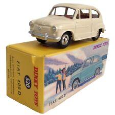 Fiat 600 D Dinky toys Atlas Diecast coche a escala