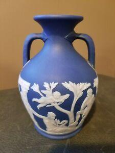 Wedgwood Jasperware Vase, Wedgwood Jasperware Portland Vase, Antique Wedgwood