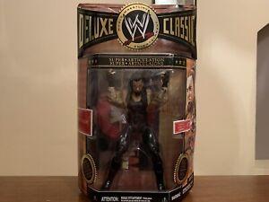 WWE JAKKS DELUXE CLASSIC SERIES 07 UNDERTAKER + RING SKIRT BOXED RARE