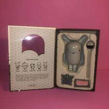 Fanelli Pecan Pals Wooden Figurine Greyscale Noferin 2007 Limited 300 Grey