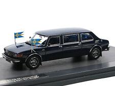 Matrix 1976 Saab 99 LWB Limo König Carl XVI Gustaf von Schweden 1/43