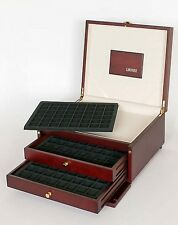 Lindner S2430-S2148CE Coin case KABINETT for 288 coins/coin capsules up to Ø 30