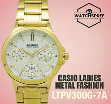 Casio Ladies' Standard Analog Watch LTPV300G-7A LTP-V300G-7A