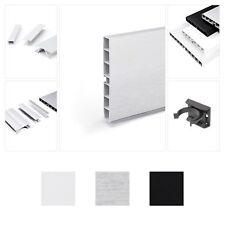 Küchensockel Höhe 150mm Sockelblende Kunststoff  Arbeitsplatte Zubehörteile Weiß