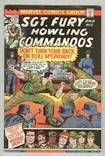 Sgt. Fury and His Howling Commandos #124 January 1975 G/VG