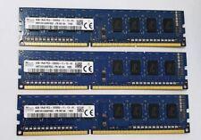32x 4GB DDR3 1600MHz Desktop PC RAM Hynix ~~ PC3-12800U Memory 240pin 1Rx8 DIMM