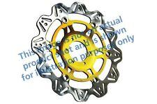 passend für BRAMMO (elektrisch Fahrrad) Empulse 12>13 EBC VR Bremsscheibe Gold