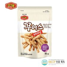 Roasted Dried Fish Chips Korean Snack Appetizer Munchies Beer Chewin 90*10 HACCP