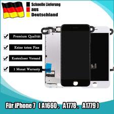 Display LCD Für iPhone 7 Schwarz/ Weißmit RETINA VORMONTIERT KOMPLETT Front Glas