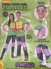 Unisex Teenage Mutant Ninja Turtles Donatello Purple Mask And Pads Costume OS