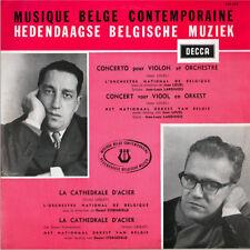 """RED DECCA 10"""" LOUEL Violin Concerto (LARDINOIS) LEGLEY Cathedrale STERNEFELD"""