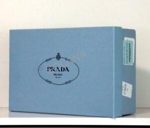PRADA Empty Blue Shoe Box for Wedge Heels Platform Flats Sandals 100% Authentic