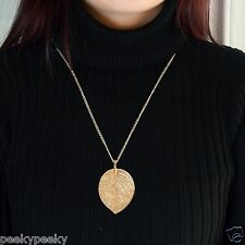 """Gold Plated Good Luck Necklace & Pendant Fashion Women Jewelry Charm 28"""" Chain"""