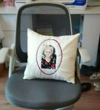 Photo Embroidered Cushion Loved One Relative Any Photo gift