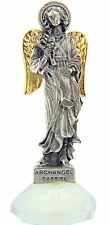 Travel Protection Patron Archangel Saint St Gabriel Adhesive Car Auto Statue