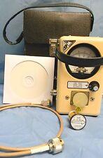 Bird APM-16 Thruline Wattmeter 50Ω w/ APM-50E 400-1000MHz 50W Slug