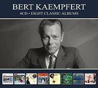 BERT KAEMPFERT - 8 CLASSIC ALBUMS  4 CD NEU
