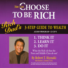 You Can Choose to be Rich - Robert Kiyosaki - Rich Dad - Audiobook 12CDs