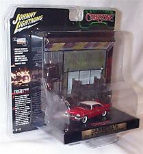 Plymouth Christine Diecast & Darnells Garage Diorama 1:64  NEW JLDR001