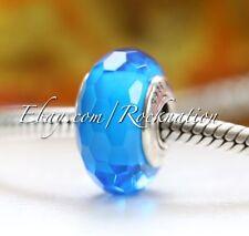 Authentic Pandora Fascinating Aqua Charm Murano 791607