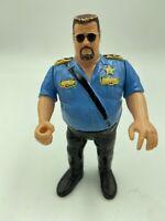 VINTAGE WWF HASBRO BIG BOSS MAN WRESTLING ACTION FIGURE 1990 WWE WCW ECW retro