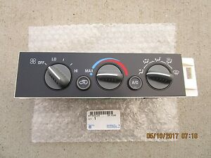 GM CHEVY 09378815 ACDELCO 1572548 A/C HEATER CLIMATE TEMPERATURE CONTROL OEM NEW