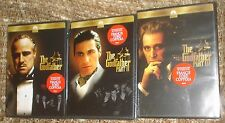 The Godfather, The Godfather Part Ii,+ The Godfather Part Iii Dvds, New & Sealed