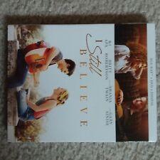 I Still Believe, new DVD & HD digital only (no bluray, artwork, original case)
