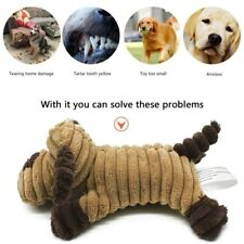New listing Pet Chew Toy Squeaky Cute Corduroy Funny Animal Dolls, Dog Molar Supplies