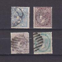 SPAIN 1868, Sc# 98-101, CV $21, part set, Used