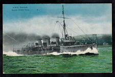 WW 1 Mint RPPC Postcard Warship British England Navy HMS Sentinel Scout Ship