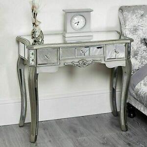 FAULTY Mirror bedroom Dressing Table bedside cabinet console Dresser French