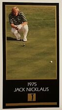 Jack Nicklaus 1975 Champions Of Golf The Masters Collection, Grand Slam Ventures