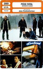 Fiche Cinéma. Movie Card. Piège Fatal / Reindeer games (USA) 2000