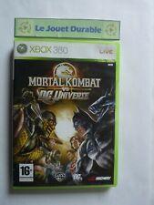 Mortal Kombat vs DC Universe -  Xbox 360 - CD en très bon état