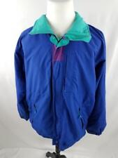VTG Patagonia Mens XL Royal Blue Purple Green Windbreaker Zip Up Jacket
