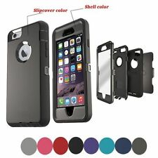 Defender Shockproof Case Cover For Apple iPhone SE 5S 6S 7 8 X Plus w/Belt Clip
