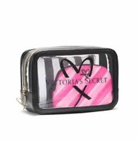 NWT Victorias Secret Makeup Bag 3pc Cosmetic Beauty Clutch LIMITED EDITION!