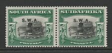 South West Africa 1927 5/- Black & green SG 66 Mint.